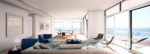 B Line living room