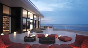 Penthouse Balcony'