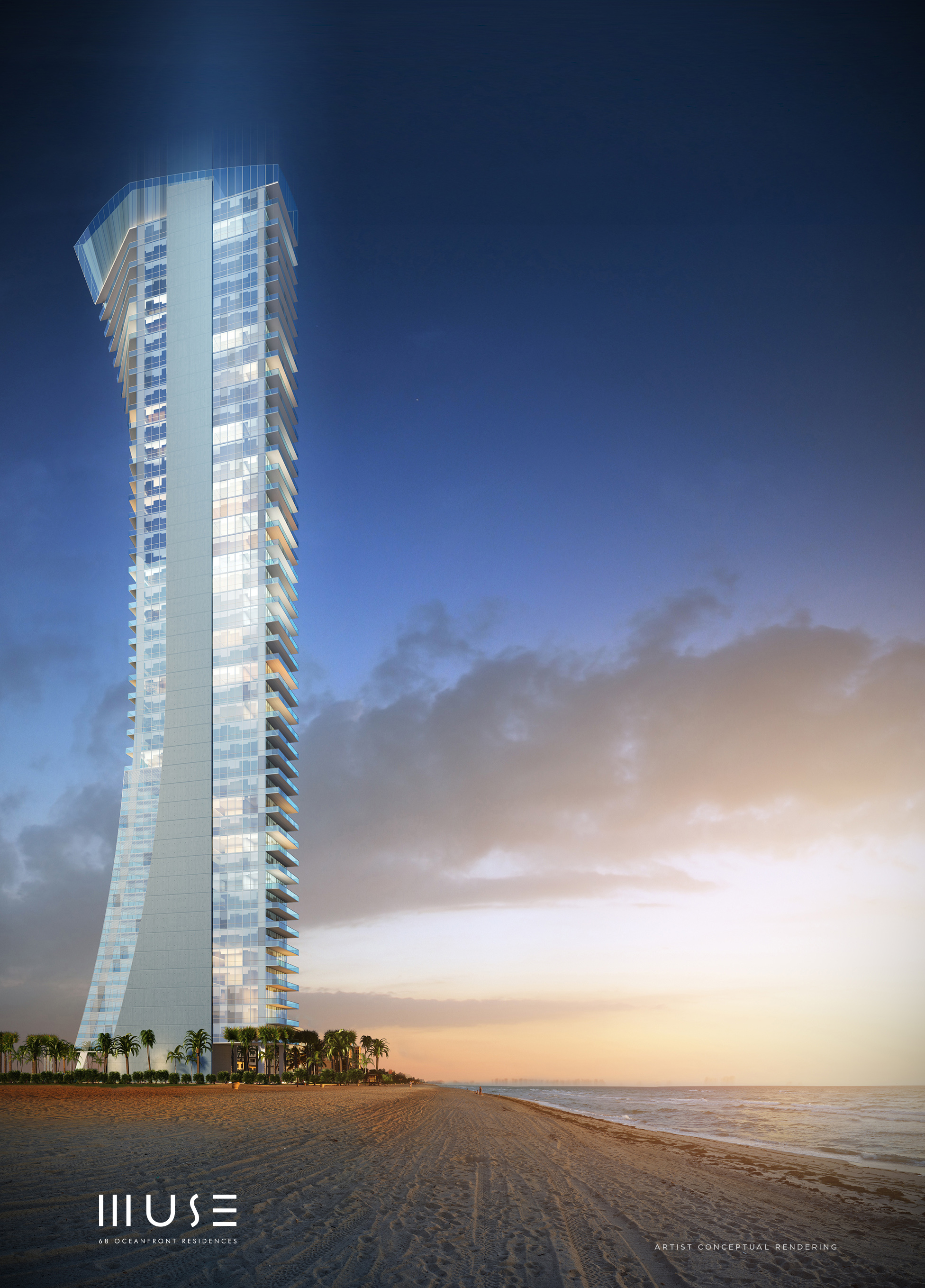 Exclusive Boutique Building in Sunny Isles With Spectacular oceanfront and west facing views