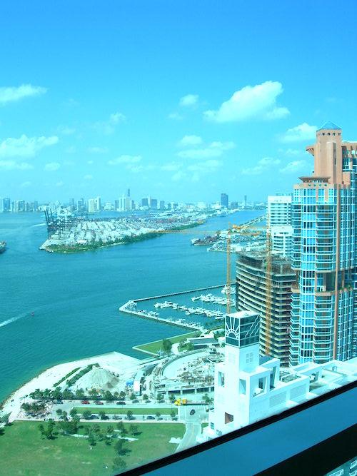 Miami Beach West Facing Views
